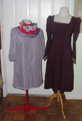 We have plenty of different size dress forms for students to work on.
