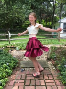 diy transformation bridal dress into a skirt