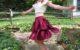 diy transformation bridal dress into a skirt