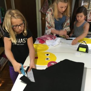 kids sewing party in chadds ford, pa