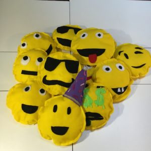 sew emoji pillows, kids can sew