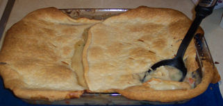 Nana's Quick and Easy Country-Style Chicken Pot Pie
