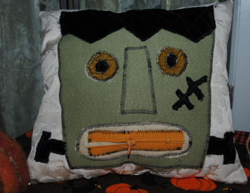 How to Make a Zipper Mouth Frankenstein