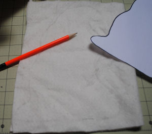 A fun ghost pattern that is easy to sew and handmade