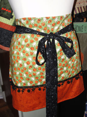 How to Make a Halloween Apron
