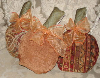 Free Halloween Sewing Project Tapestry Pumpkins